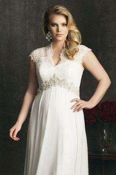 Plus Size Wedding Gowns - Plus Size Wedding Dresses | Wedding Planning, Ideas  Etiquette | Bridal Guide Magazine