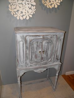 Distressed antique cabinet $210 - Framingham http://furnishly.com/catalog/product/view/id/1778/s/distressed-antique-cabinet/