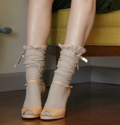 Socks & Heels, now's the time.