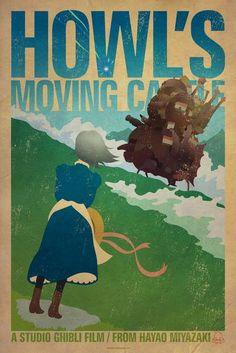 Howls Moving Castle by James Bacon
