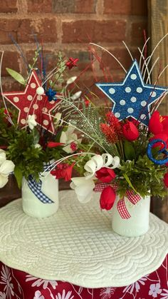 4th July Crafts, Fourth Of July Decor, 4th Of July Celebration, 4th Of July Decorations, Patriotic Crafts, 4th Of July Party, July 4th, 4th Of July Wreath, Patriotic Wreath