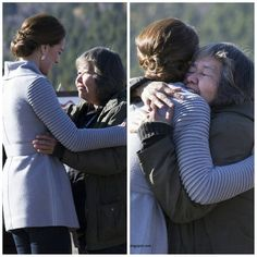 #NEWS #NEW #TODAY At Montana Mountain, The Duke And Duchess Received Hugs