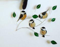 Aves de patio trasero favorito Trio americano por seasonaltreasures
