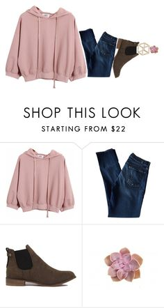 """D U L L"" by littlemissdifferent ❤ liked on Polyvore featuring Chicnova Fashion, 7 For All Mankind, Akira Black Label, Topshop, women's clothing, women, female, woman, misses and juniors"