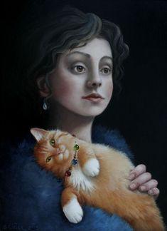 Suzan Visser (Dutch painter and illustrator, b. 1967)