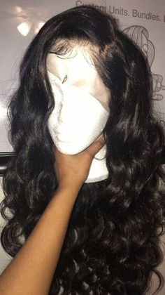 Beautiful long wavy wigs for black women lace front wigs human hair wigs long wavy hairstyles - July 13 2019 at Curly Wigs, Human Hair Wigs, Short Wigs, Lace Front Wigs, Lace Wigs, Curly Hair Styles, Natural Hair Styles, Wig Styles, Long Wavy Hair