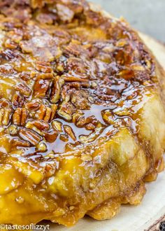Upside Down Apple Dumpling Pie