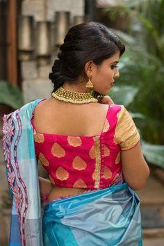 saree-blouse-design-for-durga-puja-6  #sareeblouse #sareeblousedesigns #latestblousedesigns