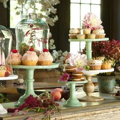 Milk Glass Cake Stand in House+Home KITCHEN+DINING Tabletop Serveware at Terrain