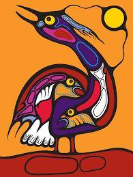 Record: Category: Painting Year Created: 2010 Media: Acrylic on Paper Dimensions: 14 x 18 Signature location: H. South American Art, Native American Artwork, Totem Pole Art, Kunst Der Aborigines, New Year Art, Woodland Art, Raven Art, Haida Art, Art N Craft