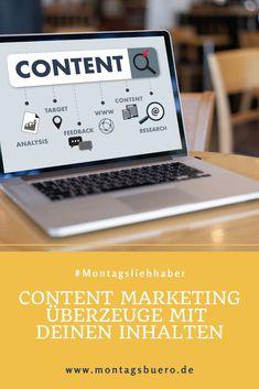 Content Marketing ist längst keine Modeerscheinung mehr. Es geht um so viel mehr als nur das reine Erstellen von Inhalten. Guter Content bildet die Grundlage, dein Unternehmen und Angebot erfolgreich zu vermarkten.  Es geht darum, verschiedene Social Media Kanäle oder Blogs gezielt einzusetzen und eine übergreifende Marketingstrategie zu entwickeln. #ContentMarketing #OnlineMarketing #SocialMedia #Markenaufbau #Branding #Content Instagram Feed, Instagram Story, Influencer, Content Marketing, Tricks, Blog, Branding, Business, Communication