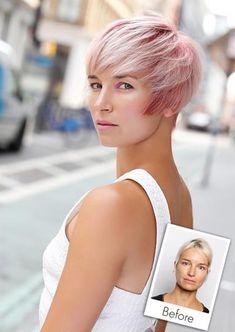 Deze 10 metamorfoses van dames die van langer haar naar kort gingen kunnen jouw misschien wel inspireren! - Kapsels voor haar