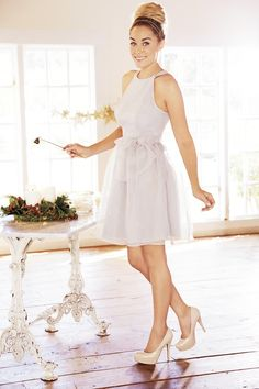 Give your LBD time off and lighten up for the holidays. LC Lauren Conrad at #Kohls