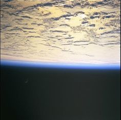 Taken by an astronaut on ISS. but truly curious what that black object is? Is it the Black Knight satellite discovered back in 1960 that is not claimed by any government, an alien ship? Why does NASA cut live feed when this object approaches? Hubble Space Telescope, Space And Astronomy, Black Knight Satellite, Alien Ship, Hollow Earth, Unidentified Flying Object, Aliens And Ufos, Earth From Space, Earth