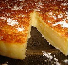 Receitas de Portugal: Queijada de Leite e Laranja Croissants, Milk Tart, Portuguese Recipes, No Bake Desserts, Coco, Cheesecake, Food And Drink, Banana, Tasty