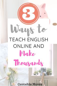 Looking for legit work from home jobs? Teach english to students in Asia and make thousands. Legit Work From Home, Work From Home Jobs, Money From Home, Hustle Money, Best Online Jobs, Teaching English Online, Making A Budget, Meaningful Life, Find A Job