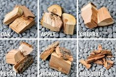 Pick out the best type of smoker wood - Grilling with Rich Wood For Smoking Meat, Smoking Chips, Smoke Barbecue, Smoke Grill, Smoked Brisket, Smoked Pork, Wood Smokers, Meat Smokers, Wood Grill
