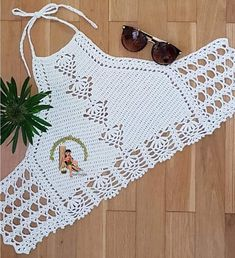 Crochet Purse Patterns, Crochet Purses, Crochet Stitches, Crochet Crop Top, Crochet Diagram, Knitting Projects, Diy Clothes, Crop Tops, Bikinis