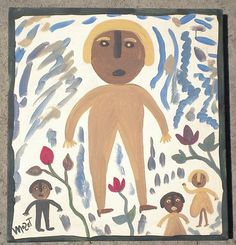 Mose T Tolliver Outsider Art Man And Friends
