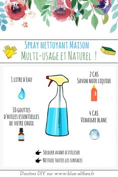 Homemade recipe: soil cleaner & natural multi-use spray., DIY and Crafts, Here I give you the recipe of a homemade floor cleaner and a green multipurpose spray. and practical!