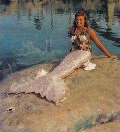 Disneyland mermaid in the 1960's.  Does anyone know where in Disneyland they had mermaids???