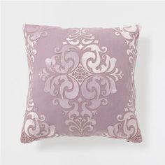 PASTEL MAUVE LINEN CUSHION WITH APPLIQUÉ - Cushions - Bedroom | Zara Home United Kingdom