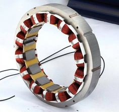 Exciter Stator for Stamford Type Alternator. Basic Electrical Engineering, Electrical Projects, Electronic Engineering, Electronics Components, Electronics Gadgets, Electronics Projects, Electrical Panel Wiring, Electrical Installation, Electric Motor Generator