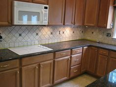 10 Best Kitchen backsplash & countertop images   Kitchen backsplash  X Diagonal Kitchen Backsplash on 6x6 kitchen tile flooring, 6x6 kitchen design, 6x6 kitchen island,