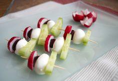 bocconcini bites Recipe Low Carb Recipes, Veggies, Foods, Food Food, Vegetable Recipes, Food Items, Vegetables