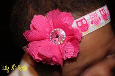 Fuchsia Faith Flower and by LilyNRoseHeadbands, Baby Headbands, All Things, Buy And Sell, Faith, Creative, Flowers, Handmade, Stuff To Buy, Etsy