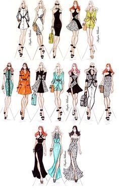 Hayden Williams Fashion Illustrations: Hayden Williams RTW Spring/Summer 2012 collection
