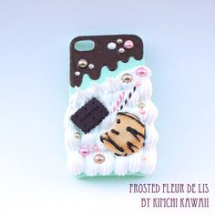 Mint chocolate cookie iphone 4/4s deco case