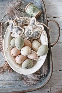 How to add a hygge style touch to your home for Easter | My desired home Easter Table, Easter Party, Easter Eggs, Ideas Actuales, Vibeke Design, Diy Ostern, Egg Designs, Easter Celebration, Easter Holidays