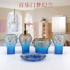 Find More Bathroom Accessories Sets Information about 2016 Toothbrush Holder Bathroom Set Banheiro Lemei European Style Bathroom Toiletries Resin Five Piece Wash Bath Set Wedding ,High Quality toothbrush holder,China bath set Suppliers, Cheap bathroom set from Commodity wholesale 2 on Aliexpress.com