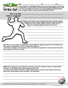 Field of Themes...Reading literature activity to use with any book or story http://www.teacherspayteachers.com/Product/Determining-Analyzing-Theme-Field-of-Themes-for-Any-Novel-or-Story-1243654