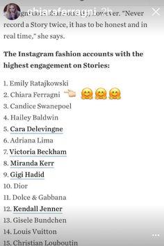 Emily Ratajkowski, Hailey Baldwin, Adriana Lima, Cara Delevingne, Instagram Fashion, Sayings, Lyrics, Quotations, Idioms