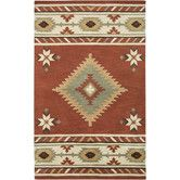 Found it at Wayfair - Anel  Hand-Tufted Red Area Rug