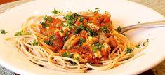 ΓΑΡΙΔΟΜΑΚΑΡΟΝΑΔΑ ΜΕ ΟΥΖΟ ΚΑΙ ΦΕΤΑ - Μια ωραία συνταγή
