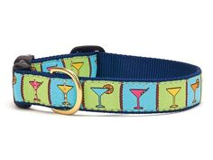 Martinis Dog Collar