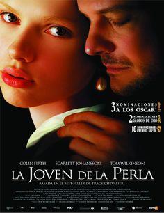 Poster de Girl With a Pearl Earring (La joven con el arete de perla)                                                                                                                                                                                 Más