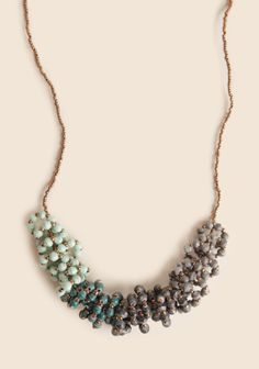 Orchid Loop Necklace By 31 Bits at #Ruche @Ruche