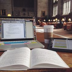 "studyingclique: "" studybuddyx: "" Studying in the library "" """