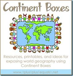 Continent Boxes/ exploring Earth