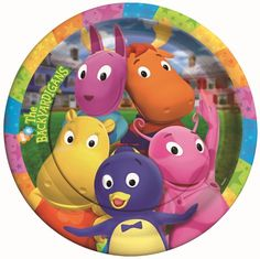 Backyardigans birthday party on pinterest party supplies for Backyardigans party decoration
