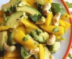 Lucky Comestible III (3): Mango Avocado Salad