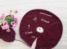 Örgü Bebek Yelek Robası Modelleri ve Yapılışları Knitting Terms, Intarsia Knitting, Knitting For Charity, Knitting Blogs, Knitting Kits, Crochet Baby Sweaters, Baby Sweater Knitting Pattern, Crochet Vest Pattern, Knitted Baby Clothes