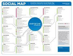 Social Media Map social media firms I like