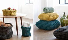 Dans cet article on vous propose quelques modèles de coussins en laine pour une décoration chaleureuse et intime de votre intérieur et on fini par vous proposer un modèle de patron pour les adepte du tricot ;)