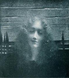 Nocturne    Lucien Lévy-Dhurmer (1865-1953)
