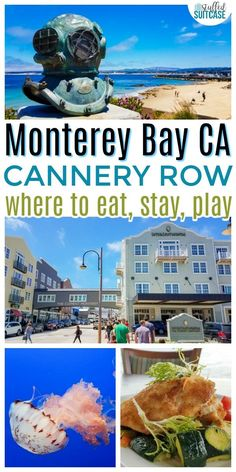 Best Guide to Cannery Row restaurants, hotels, and things to do in Monterey, CA / travel / california vacation / USA travel destinations